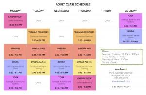 Adult Class Schedule V. 3.51 300x195 - Adult Class Schedule V. 3.5