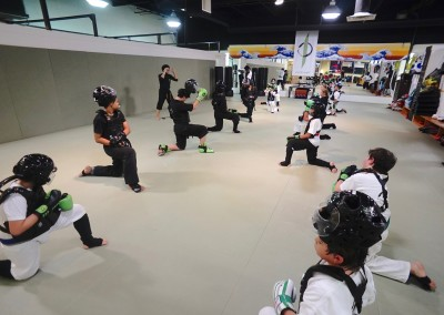 EvolveAll youth sparring class