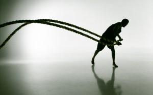 Battle Ropes – Evolve All, martial arts training