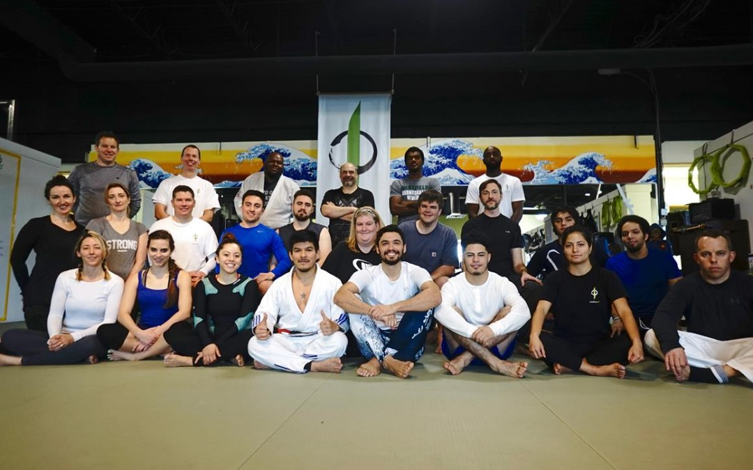 Team Renzo Gracie Canada comes to see us!