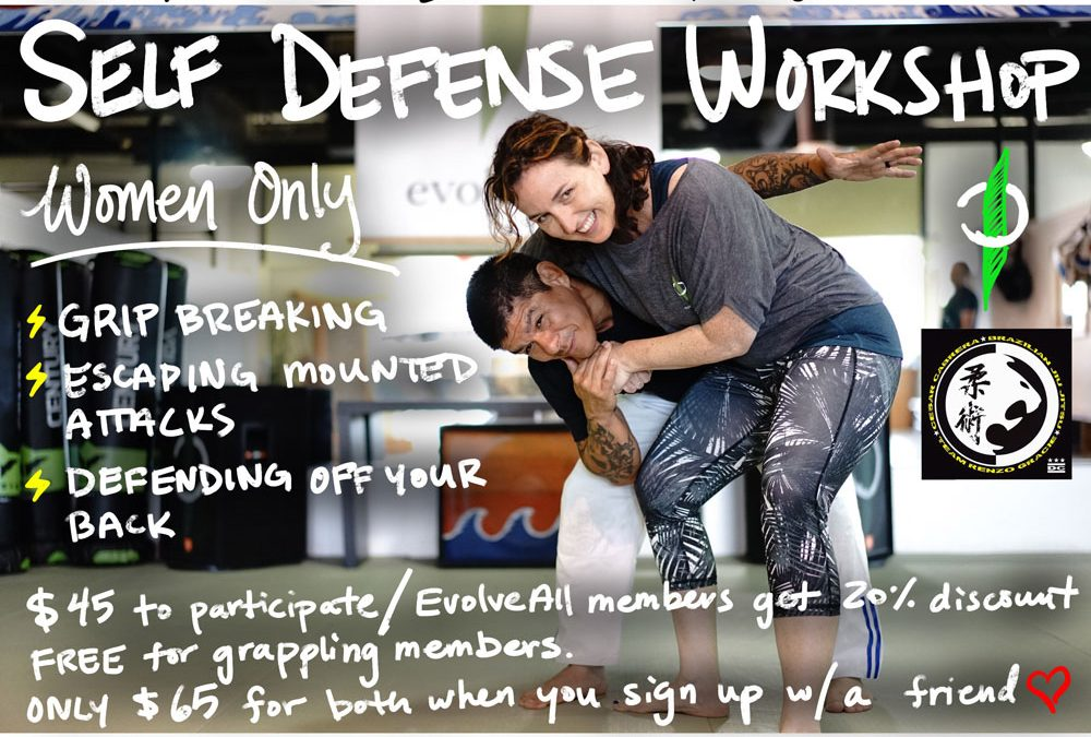 Self Defense Workshop for Women Only